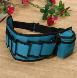 Belt with compartments for tools