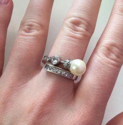 Серебряное кольцо (18 р)