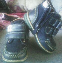 Μπότες στο αγόρι r. 20