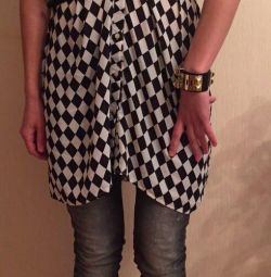 Elbise tunik ZARA Kadın yeni