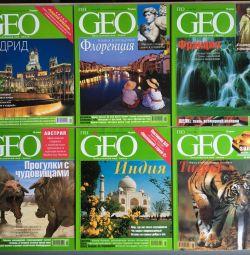 Журнал GEO 2002 рік