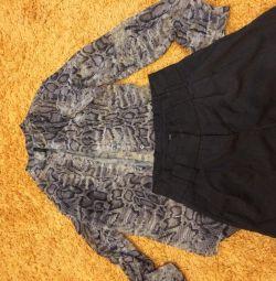 Bluză și pantaloni scurți