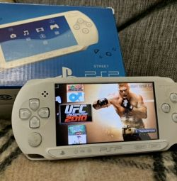 PSP E Street white, 16Gb, 300 games