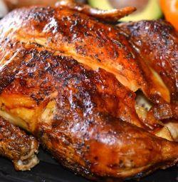 Ніжне м'ясо ДОМАШНЬОГО курчати - бройлера