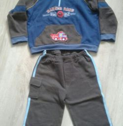Sports suit for the boy.