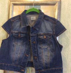 The vest jeans mango size 46-48