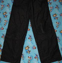 Pantaloni Demix (haina de ploaie) r. 164 Măsurători