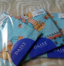 Daisy New diaper coarse calico 3pcs.