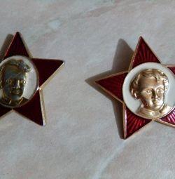 Звездочки Ленин, СССР