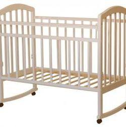 Children's bed rocking wheel