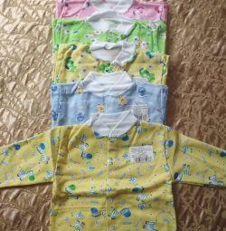 Blouses - undershirts size 80