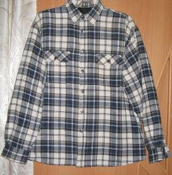 Warm men's shirt