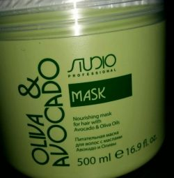 Nourishing mask for deep recovery