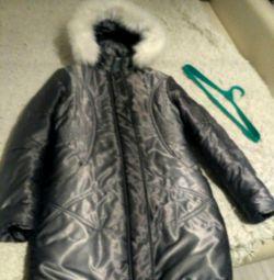 Geacă de haina în jos jacheta demi-sezon și iarnă pentru creștere 152