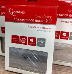 New external hard drive box