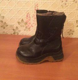 Winter boots 31 leather tsigika