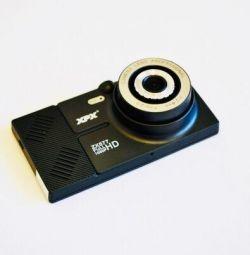 GPS Navigator + DVR 2 cameras + Radar detector