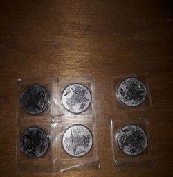 Ιωβηλαία νομίσματα, Σότσι 2014