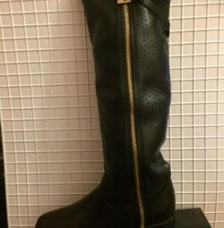 Boots spring-autumn black 39size