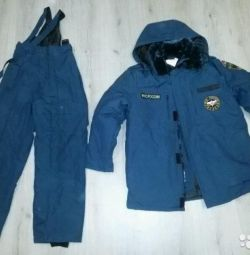 Winter suits of the Ministry of Emergency Measures new (р.48,50,52)