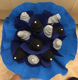 Bouquet of socks. A gift for a man. February 14/23