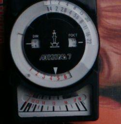 Экспонометр ленинград7