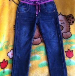 Jeans și bluză
