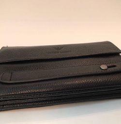 Giorgio Armani Men's Wallet with two zips!
