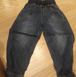 Jeans trei perechi (de 3 ani)