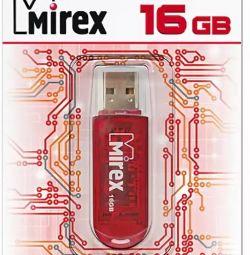 USB Flash Drive 2.0 16Gb Mirex ELF RED