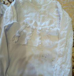 Блузки в школу