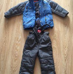 Kiko's winter overalls