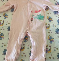 Jumpsuit for girls up to 7 months