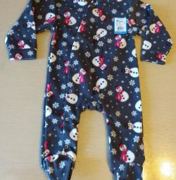 Jumpsuit with legs fleece p.74