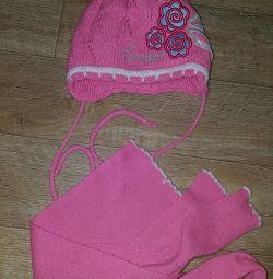 Set cap + scarf og 46/48, exchange