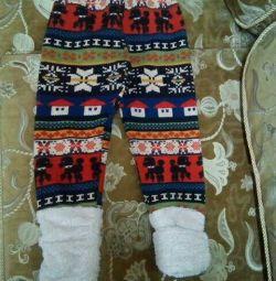 Теплі зимові штани