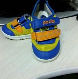 Sneakers for children.