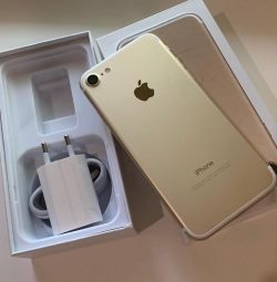 New iPhone 7 (256gb), gold 🔥