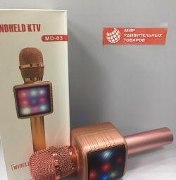 Microfon MD-03 auriu