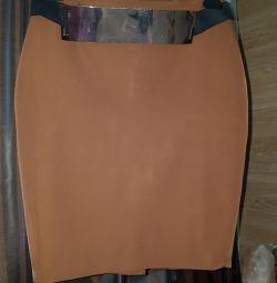 Designer skirt.