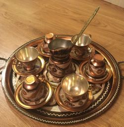 Coffee set metal