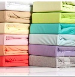 New sheets with elastic band (knitted)