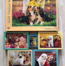 Puzzles, Puzzle 54, 120, 600 pieces