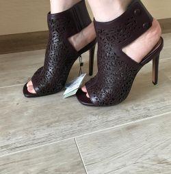 Zara δερμάτινα παπούτσια