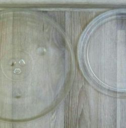 Microwave plates 2 different diameters