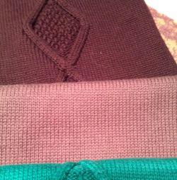шапка з шарфом42-50