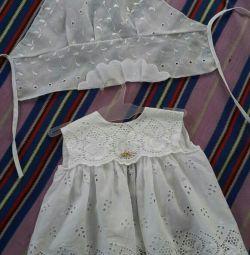 Плаття і косинка