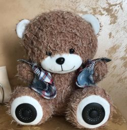 Portable speaker ritmix bear