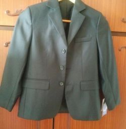 Jacket new school growth for the boy 134