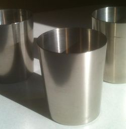 Stainless steel camping piles Three pieces